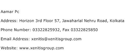 Aamar Pc Address Contact Number