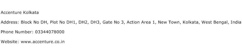 Accenture Kolkata Address Contact Number
