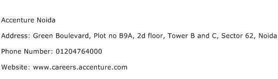 Accenture Noida Address Contact Number