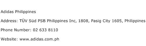 Adidas Philippines Address Contact Number