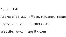 Administaff Address Contact Number
