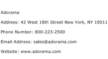 Adorama Address Contact Number