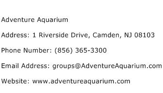 Adventure Aquarium Address Contact Number