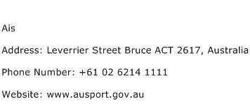 Ais Address Contact Number