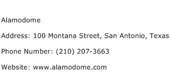 Alamodome Address Contact Number