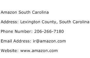 Amazon South Carolina Address Contact Number
