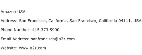 Amazon USA Address Contact Number