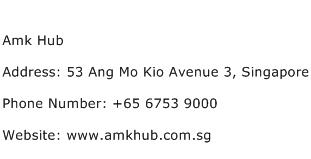 Amk Hub Address Contact Number