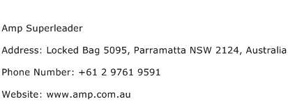 Amp Superleader Address Contact Number