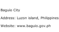 Baguio City Address Contact Number