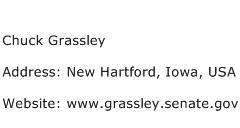 Chuck Grassley Address Contact Number
