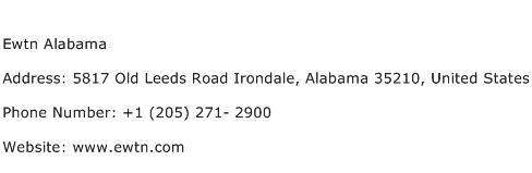 Ewtn Alabama Address Contact Number