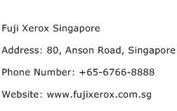 Fuji Xerox Singapore Address Contact Number