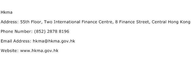 Hkma Address Contact Number