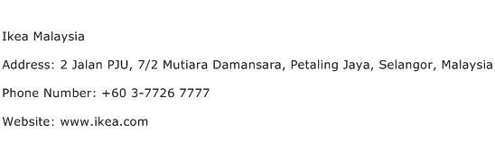 Ikea Malaysia Address Contact Number