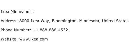 Ikea Minneapolis Address Contact Number