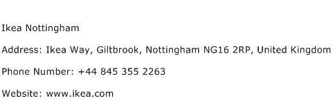Ikea Nottingham Address Contact Number