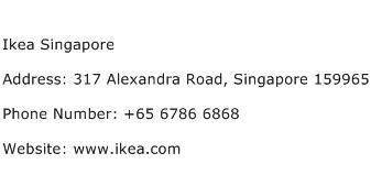 Ikea Singapore Address, Contact Number of Ikea Singapore