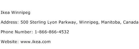 Ikea Winnipeg Address Contact Number