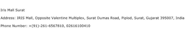 Iris Mall Surat Address Contact Number Of Iris Mall Surat