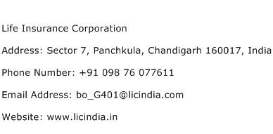 Life Insurance Corporation Address Contact Number Of Life