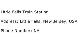Little Falls Train Station Address Contact Number
