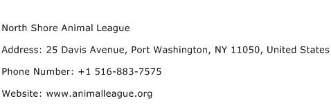 North Shore Animal League Address Contact Number