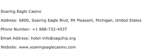Soaring Eagle Casino Address Contact Number