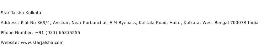 Star Jalsha Kolkata Address Contact Number
