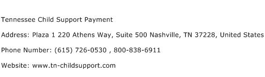 Tennessee Child Support Payment Address Contact Number