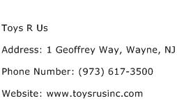 Toys R Us Address Contact Number