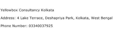 Yellowbox Consultancy Kolkata Address Contact Number